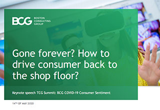 Gone forever? How to drive consumer back to the shop floor?